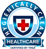 Hygenically Clean Healthcare Certified by TRSA